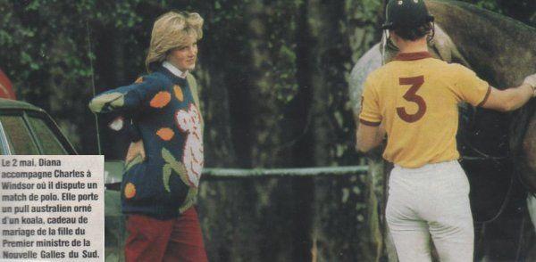 Diana -  Polo match, Windsor  le 02 mai 1982 _Suite