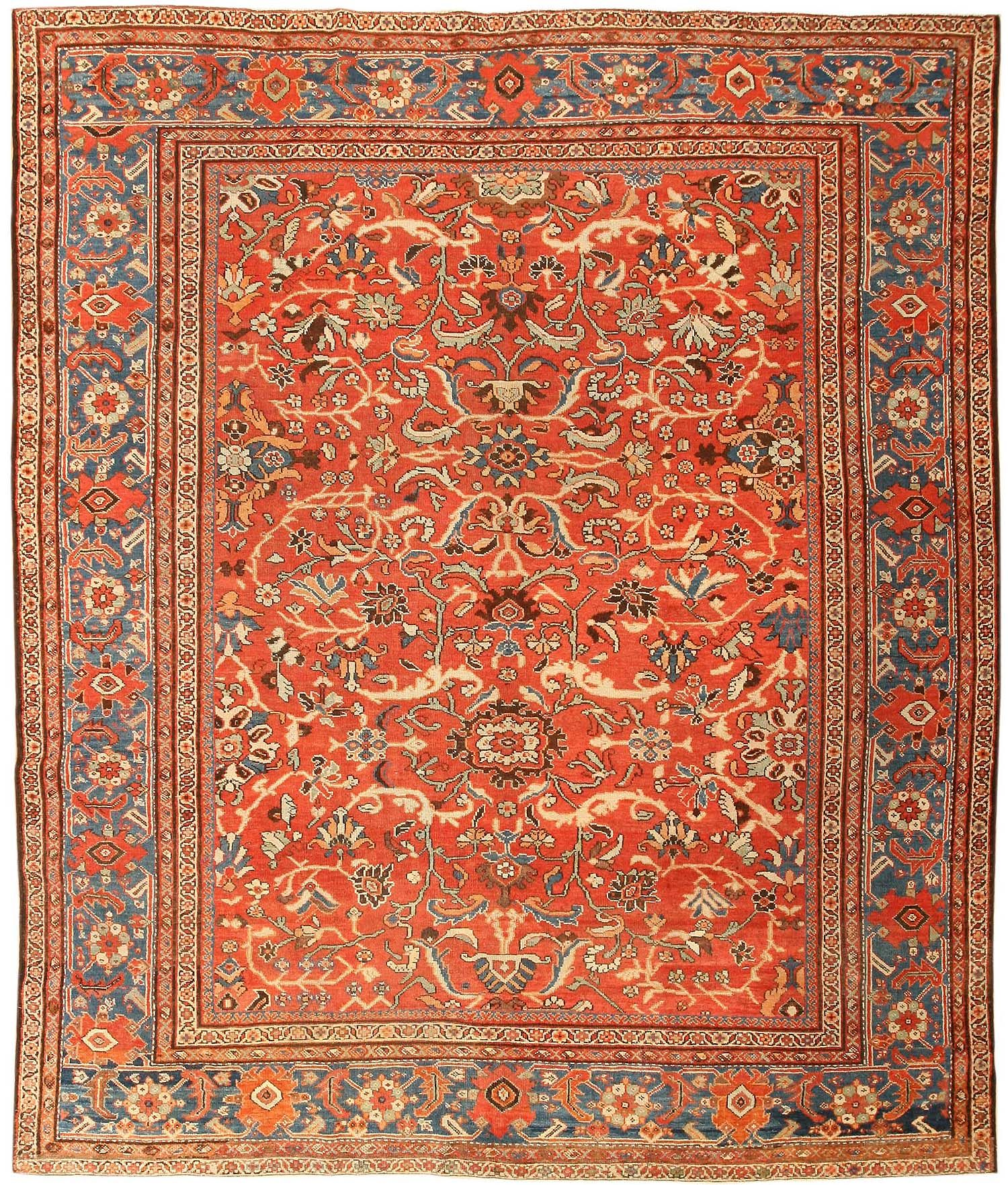 Antique Persian Sultanabad Rug 43458