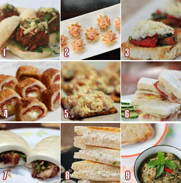 Cocktail Party Food Ideas Finger Part - 16: Finger Food To Go With Your Holiday Tails