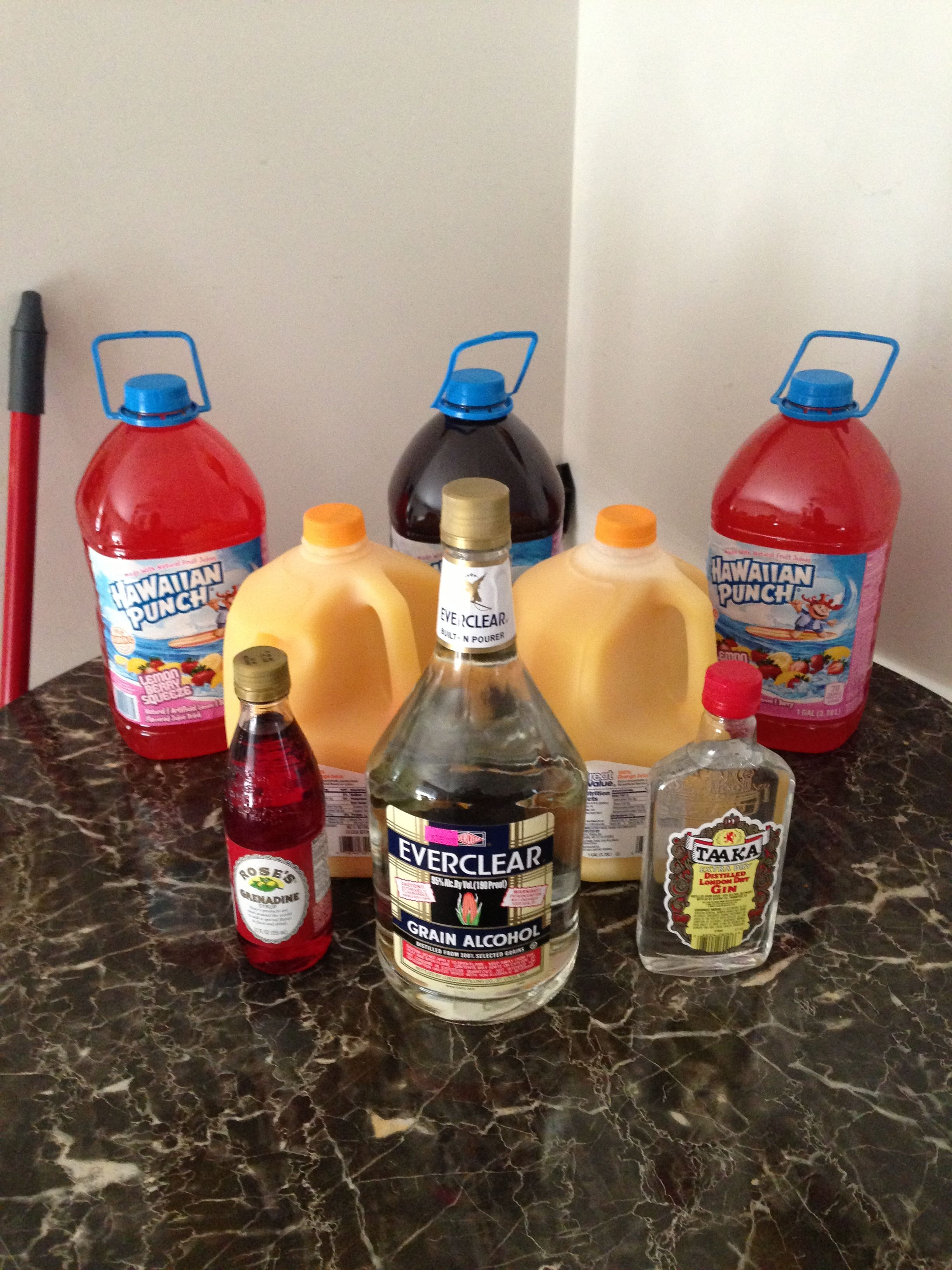 Hunch Punch The Best Hunch Punch Ever 3 Gallon Hawaiian Punch Any Flavor 2 Gallon Orange Juice Pulp Fr Jungle Juice Alcoholic Jungle Juice Drinks