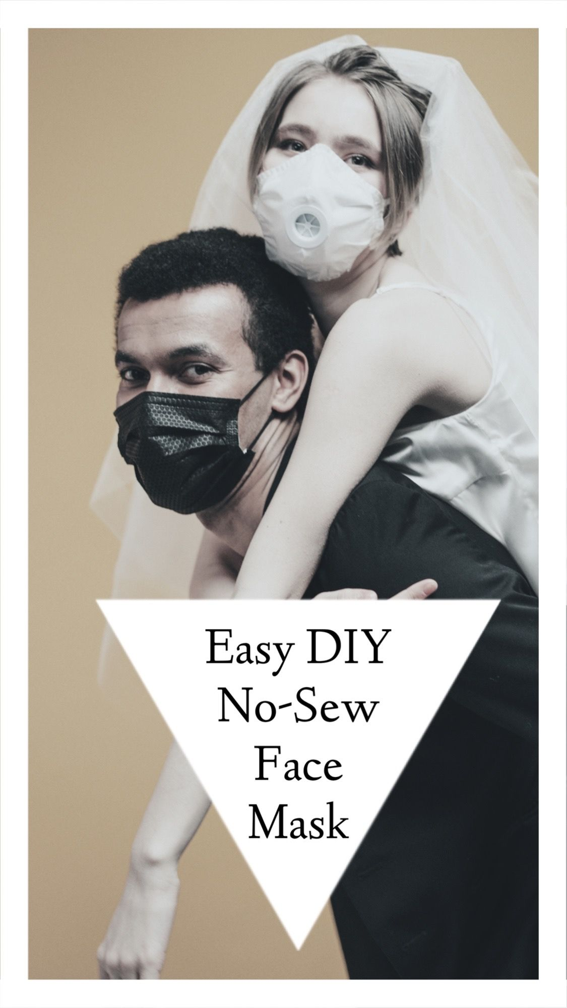 Easiest way to make a diy nosew medical face mask in 2020
