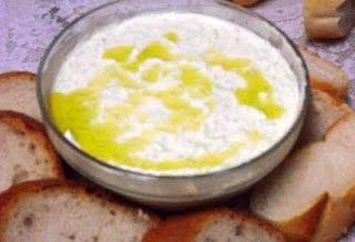 Tzatziki - Antepasto de iogurte e pepino