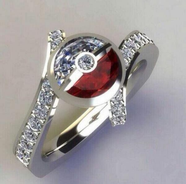 12 Wonderfully Geeky Engagement Rings Ring Engagements and