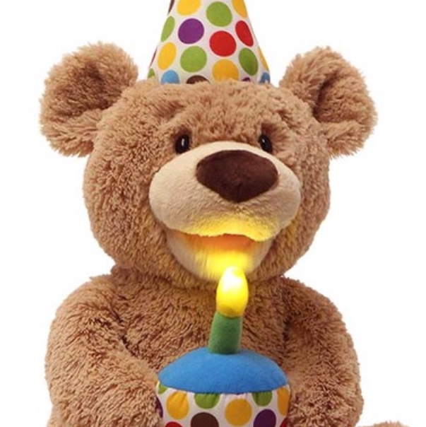 Happy Birthday Animated Teddy, 12 In In 2020