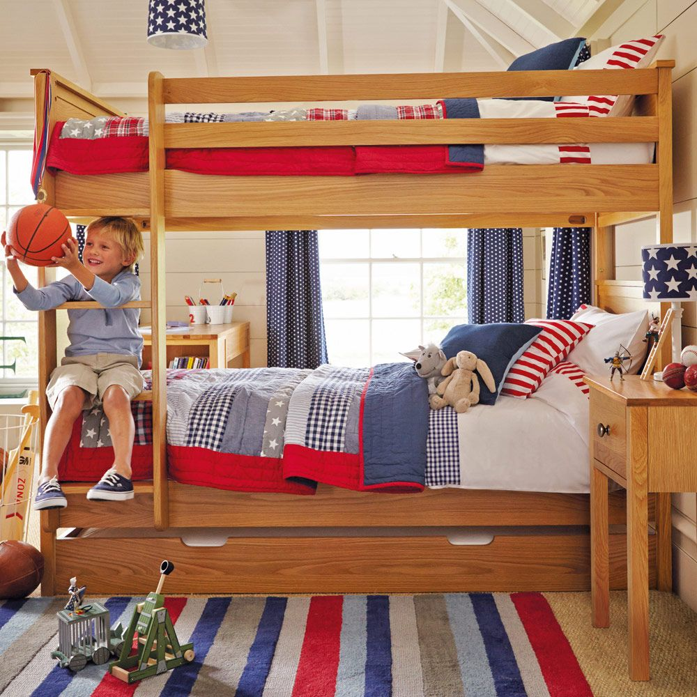 Children's loft bed ideas  Treat your children to a bunk bed from our fantastic solid oak