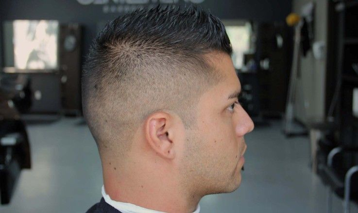 High Fade Faux Hawk Mens Haircuts Fade Mens Hairstyles