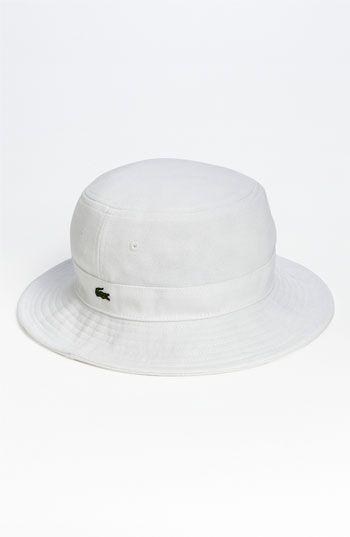 Lacoste Piqué Bucket Hat  b0012fe68eb
