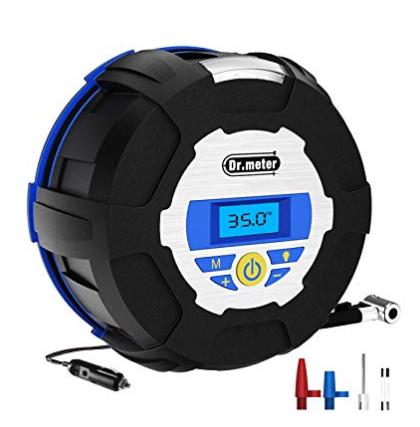 【Precise Pressure Gauge】 The tire pressure value display