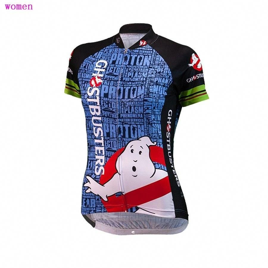 Men/'s Medium Black//Blue Ghostbusters Slimer Cycling Jersey
