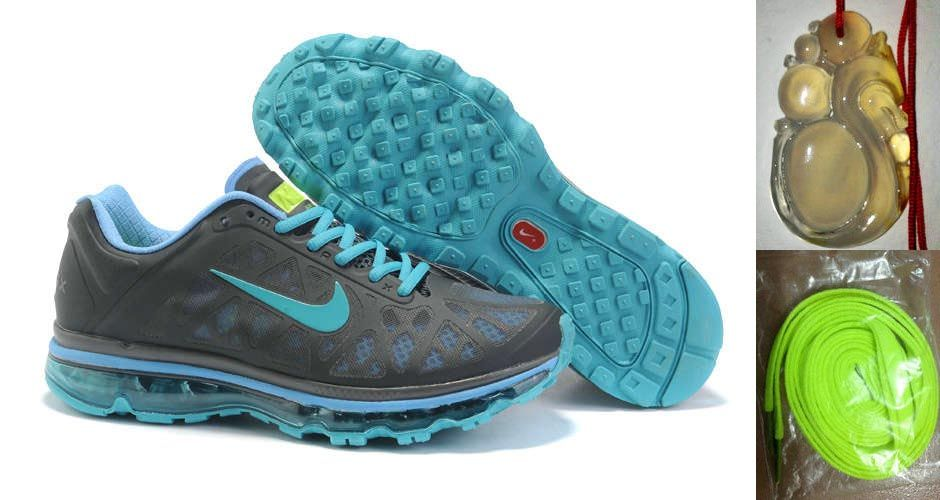 super popular c0c62 752a2 Chalcedony Dragon Volt Lace Mens Nike Air Max 2011 Grey Turquise Imperial  Blue Volt Sneakers