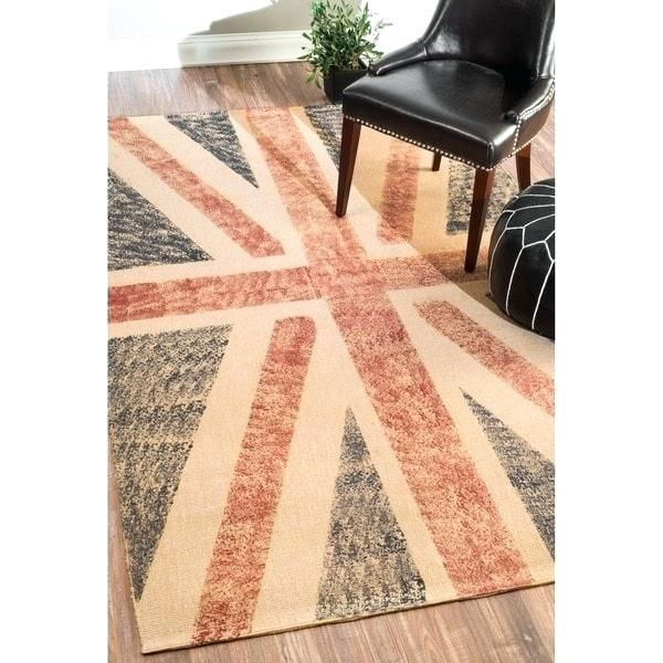 Brainy Union Jack Rug Pictures Ideas And Nuloom Jute