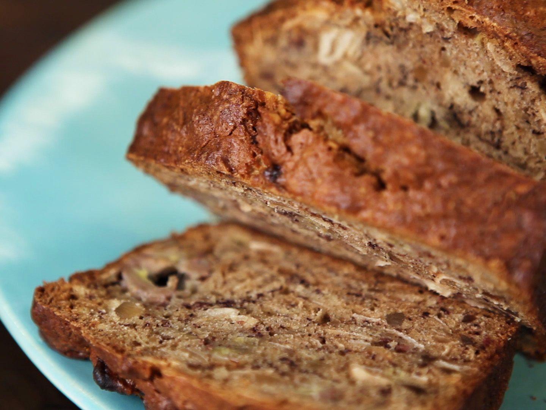 Tropical banana bread recipe banana bread recipes banana bread foods tropical banana bread recipe food network forumfinder Gallery