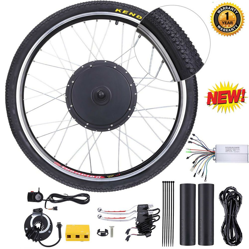 Sponsored Ebay 26 1000w Rear Wheel Kit Electric Bicycle Bike