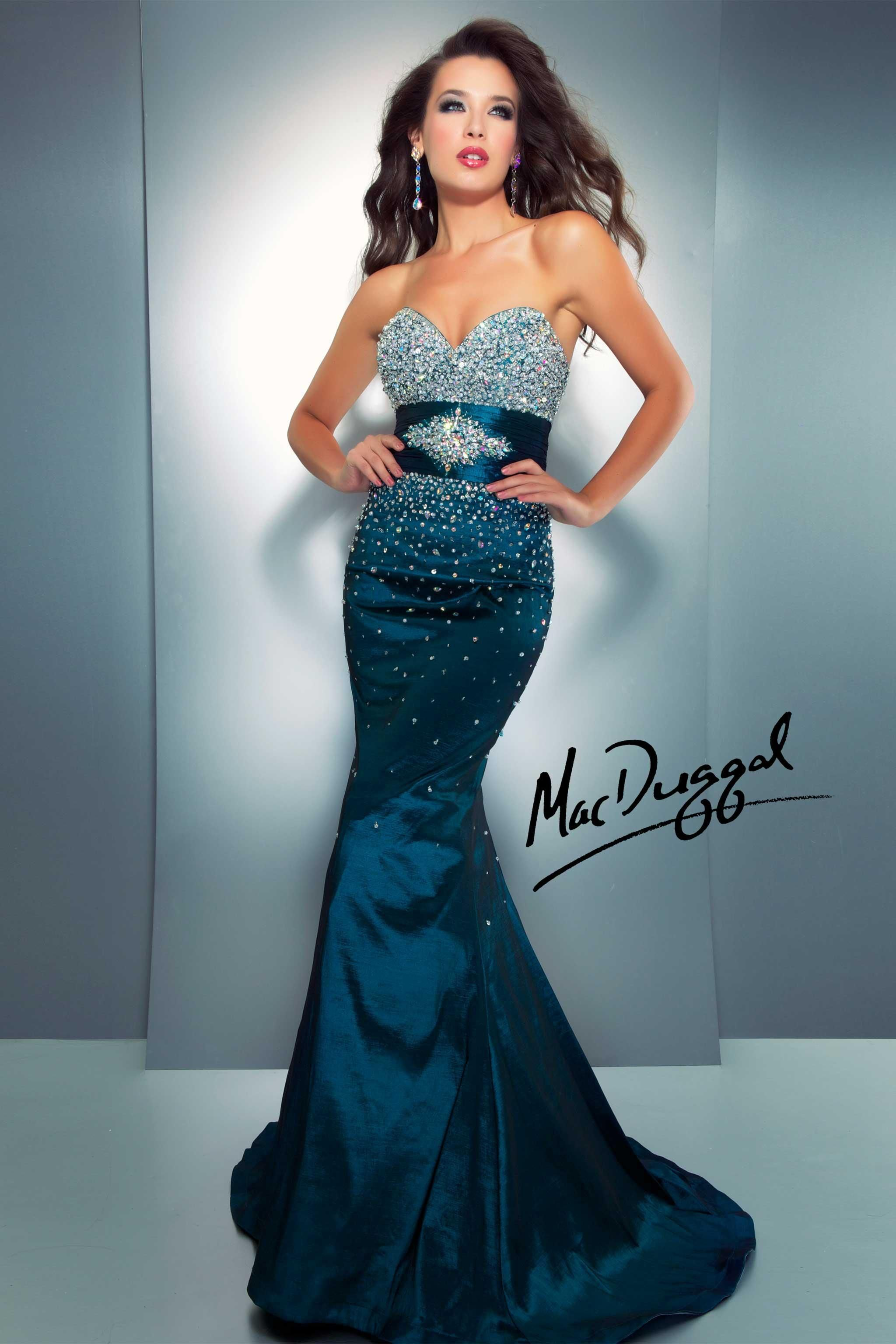 Teal Beaded Mermaid Prom Dress We still have this dress left at An ...