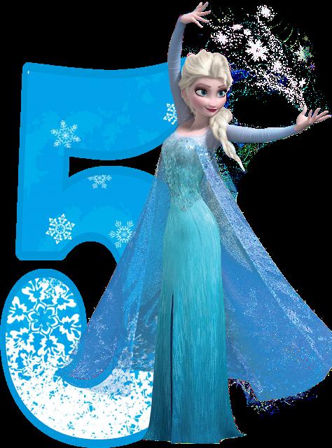 Afbeeldingsresultaat Voor 5 Frozen Png Frozen Birthday Theme Frozen Cake Topper Frozen Themed Birthday Party