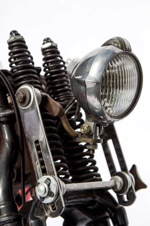 Custom Bobber Chopper Headlights Inspiration Old School Vintage Style Motorcycle Parts And Apparel Bobber Motorcycle Vintage Bikes Motorcycle Headlight