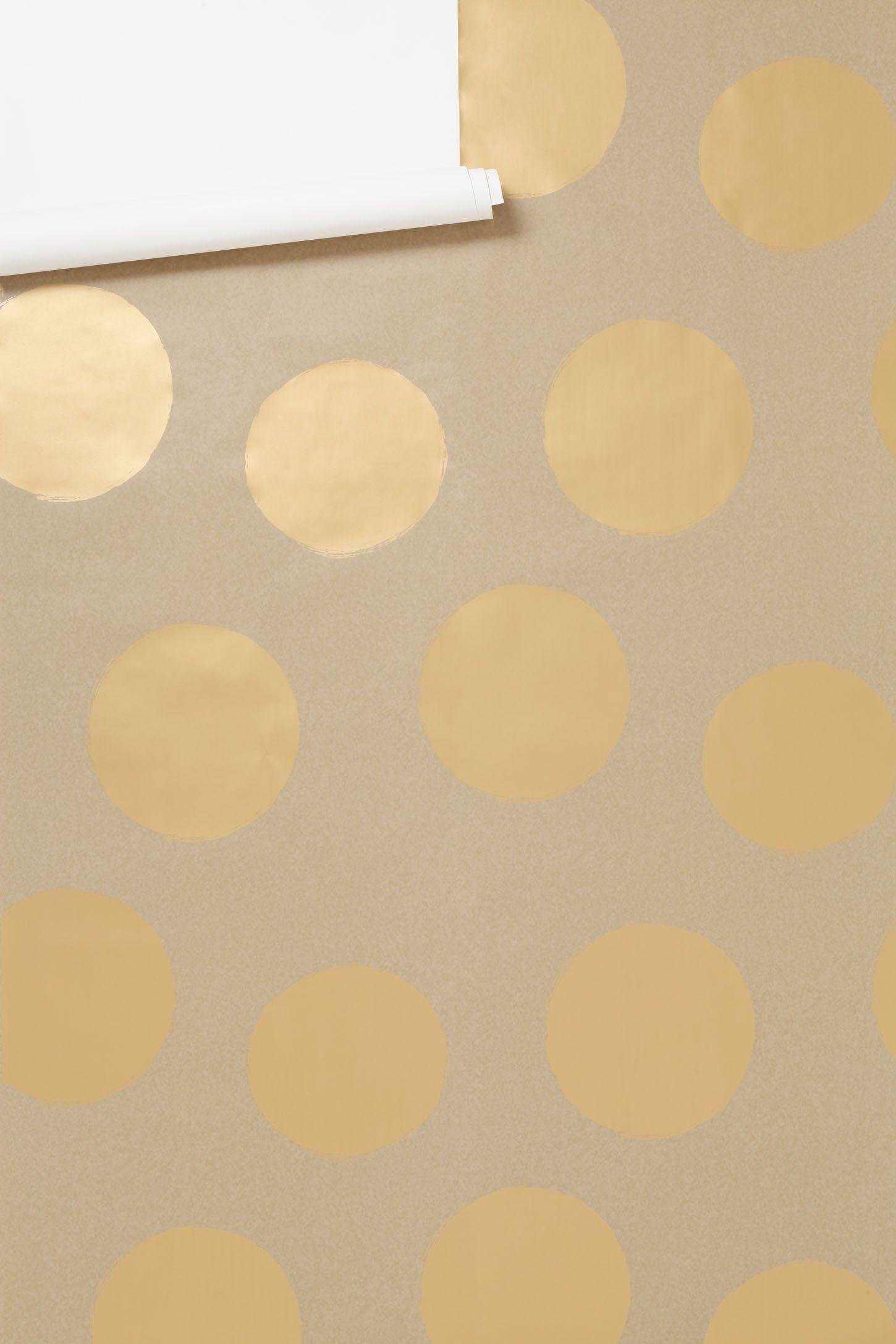 Women\'s Bathrooms\' - Luxe Shine Wallpaper - Anthropologie.com ...