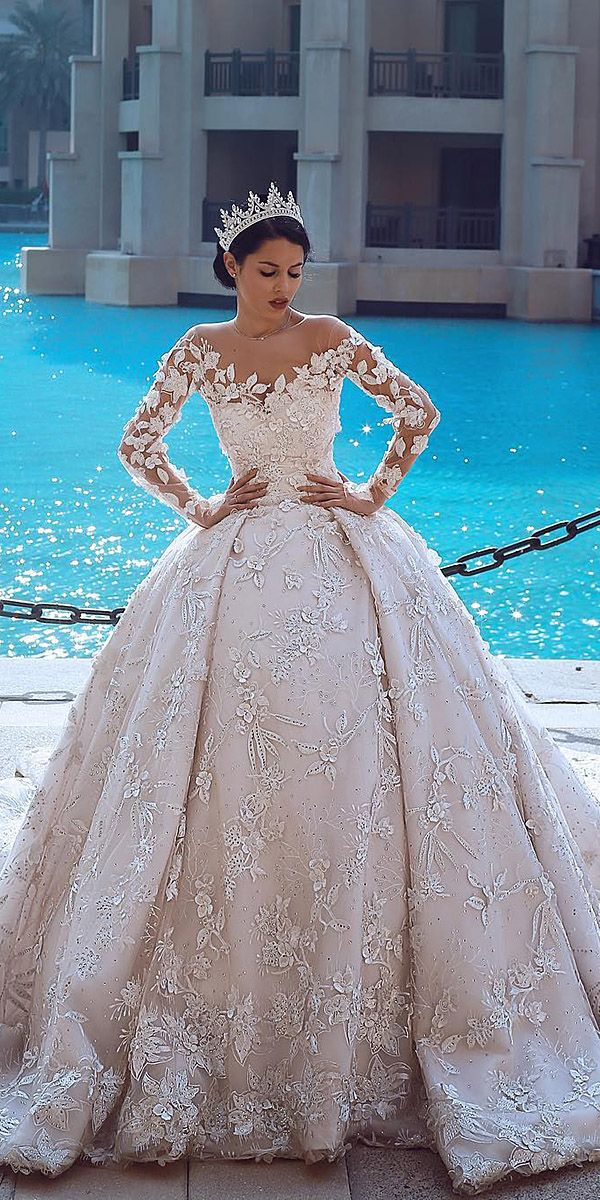 Guide To Help You Become An Expert With Wedding Dress Styles | Ball ...