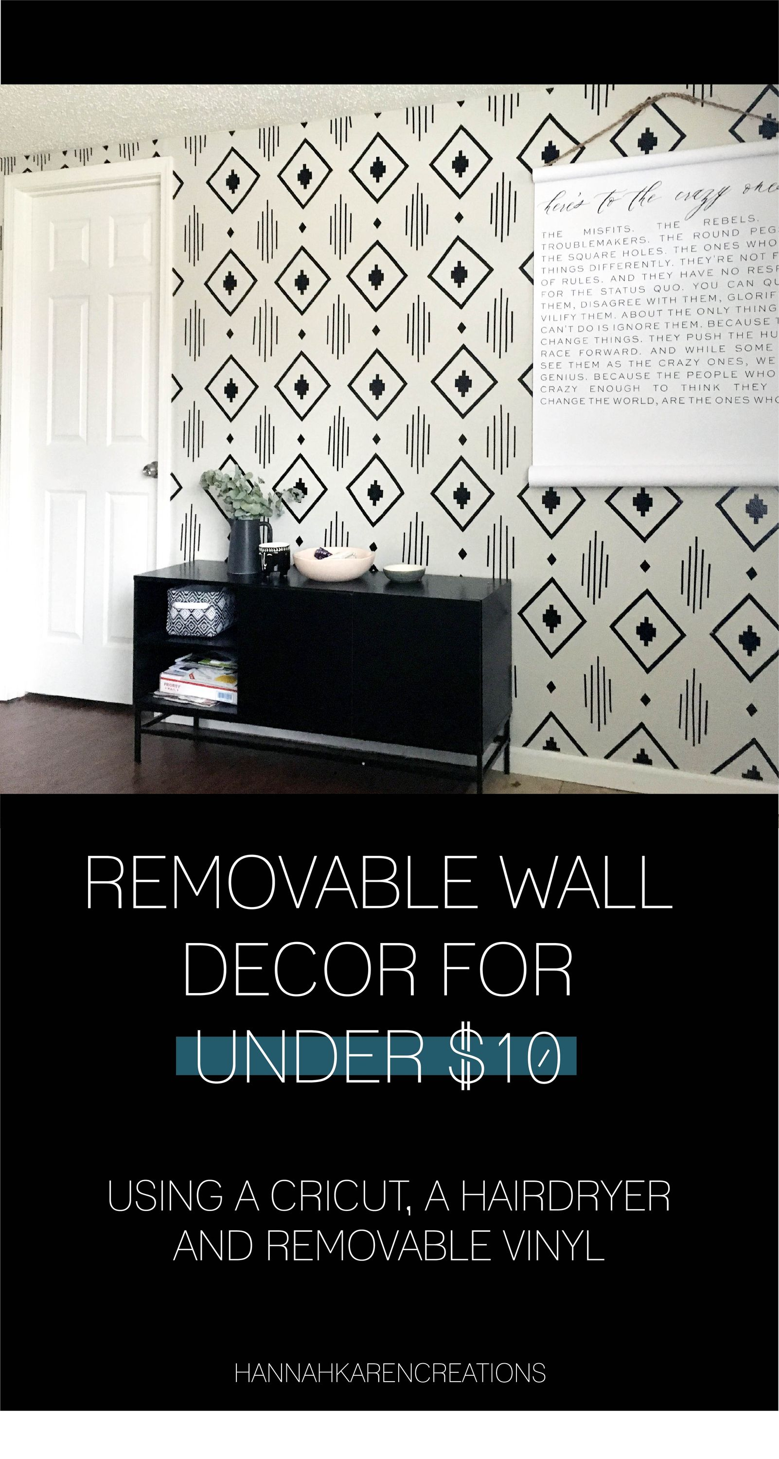 Removable Wall Decal Under 10 Wall Decal Wall Vinyl Vinyl Stickers Wall Stickers Home Decor Cricut C Removable Wall Decals Removable Wall Wall Decals