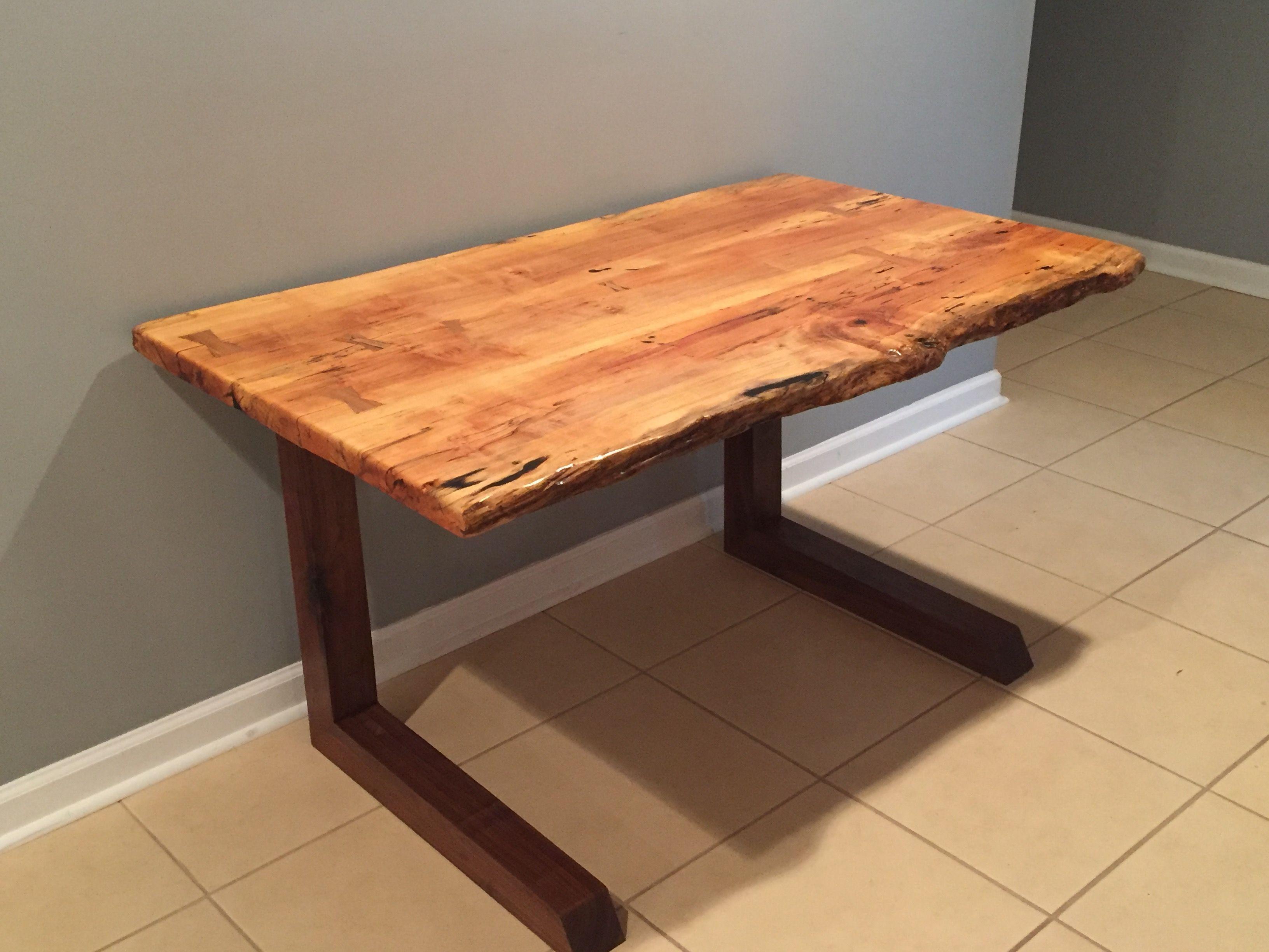 Maple Live Edge Desk Walnut Desks Live Edge Desk Coffee Table
