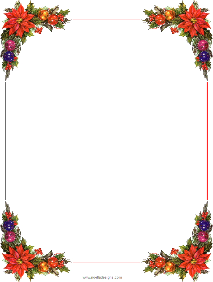 stationeryunlined06.png (748×989) Free christmas