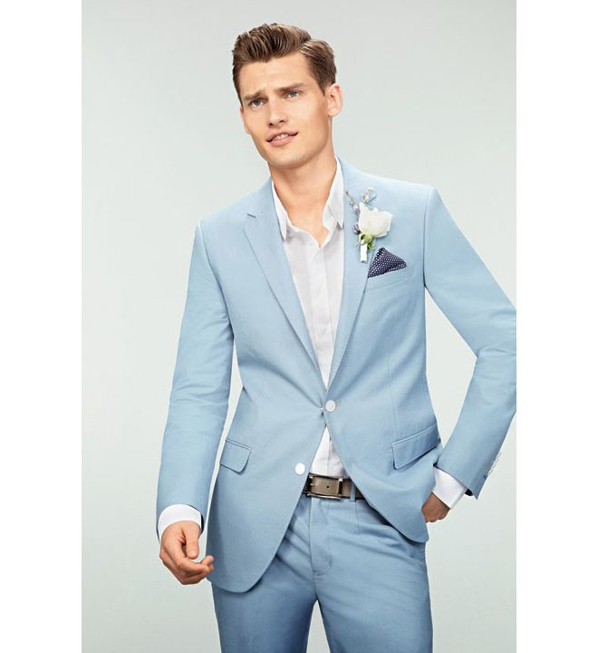 trajes de lino azul - Buscar con Google | #Matrimonio #Lino ...