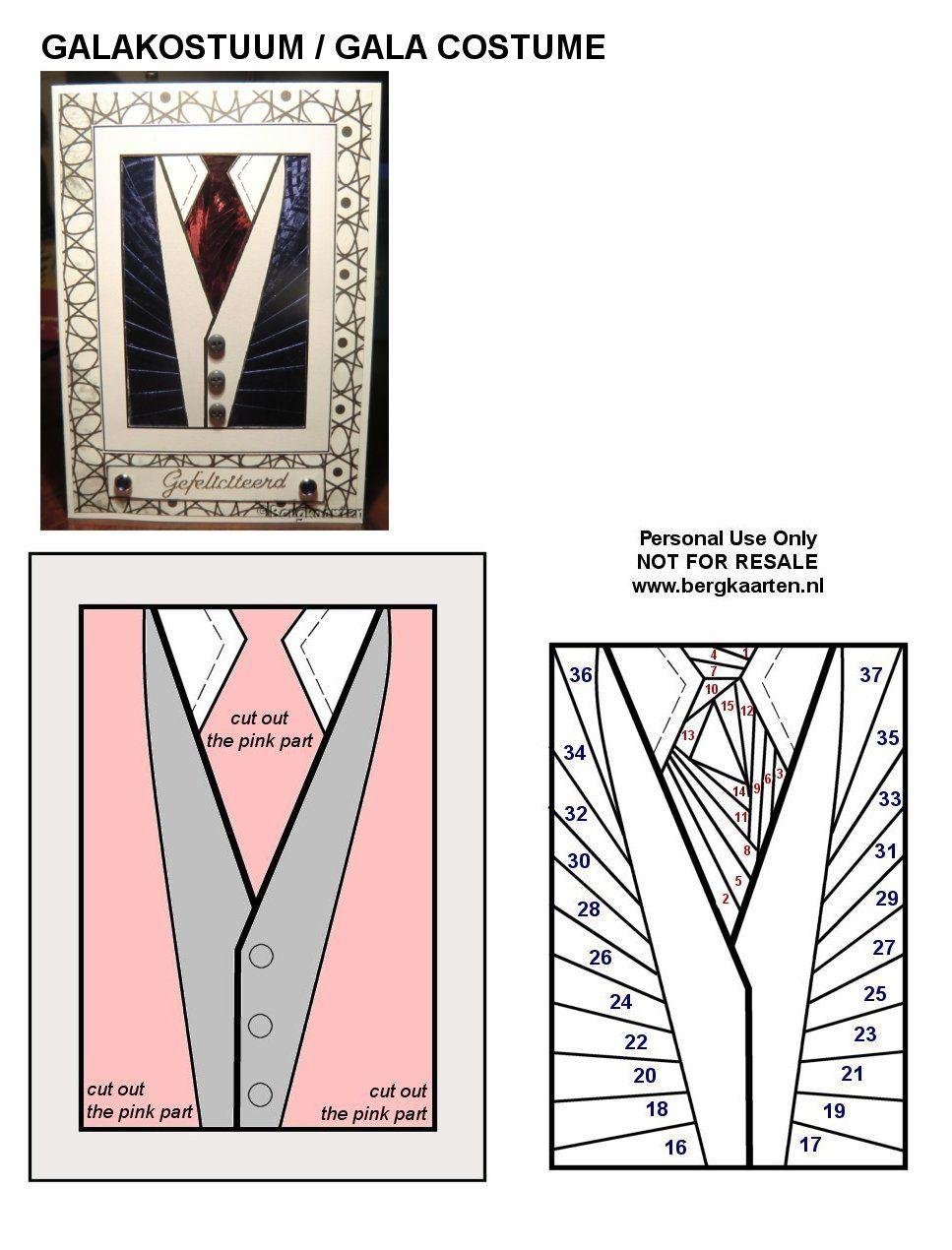 Irisvouwen: Galakostuum / Gala Costume | Card ideas | Pinterest ...