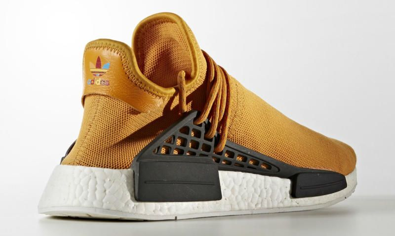 Boutique Pharrell Williams x adidas NMD Human Race'Tangerine