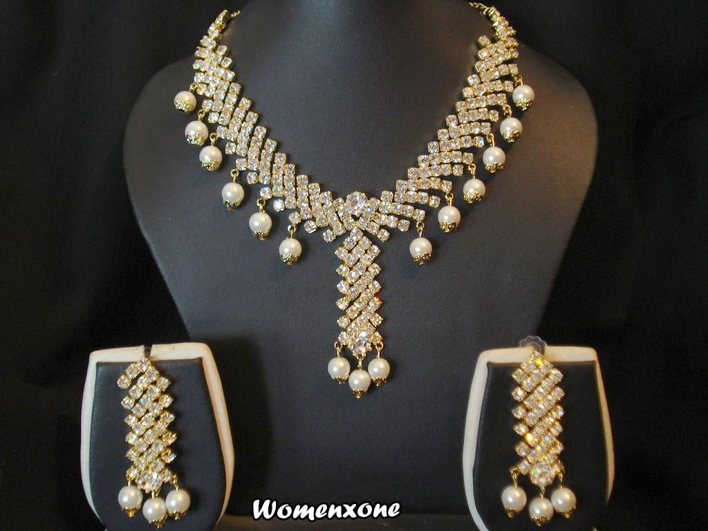 Find This Pin And More On Wedding Jewelry Indian Kundan Bridal Jewellery  Set