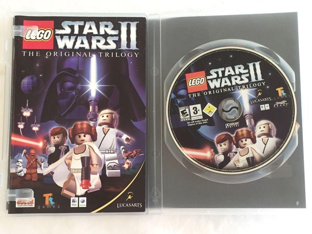 Lego Star Wars Ii The Original Trilogy Computer Game Dvd Rom Tt Games Mac Win Lucasarts Star Wars Ii Lego Star Wars Original Trilogy
