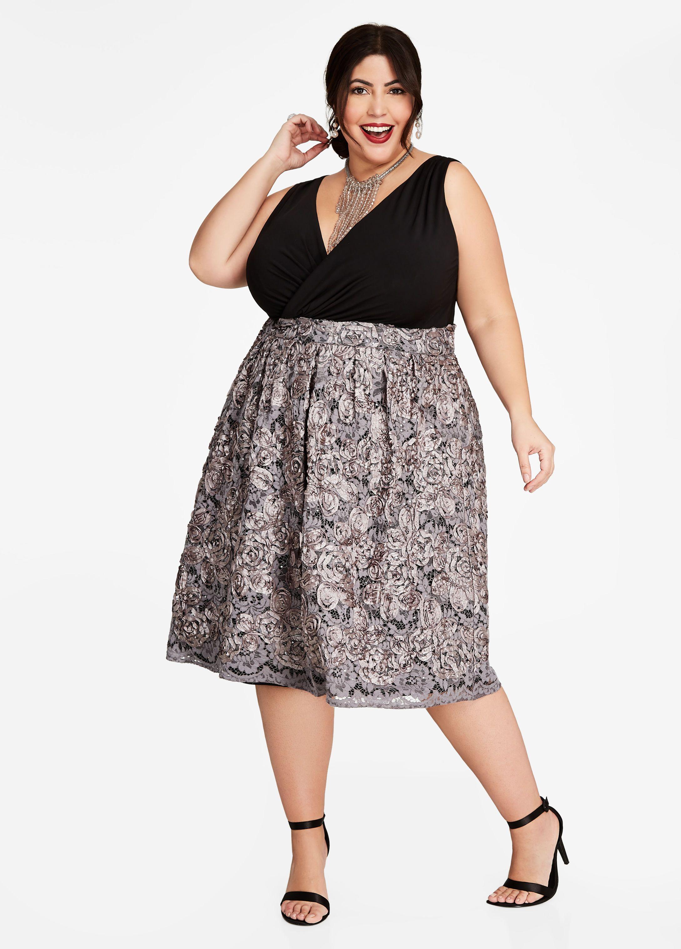 Plus Size Dresses At Ashley Stewart – DACC
