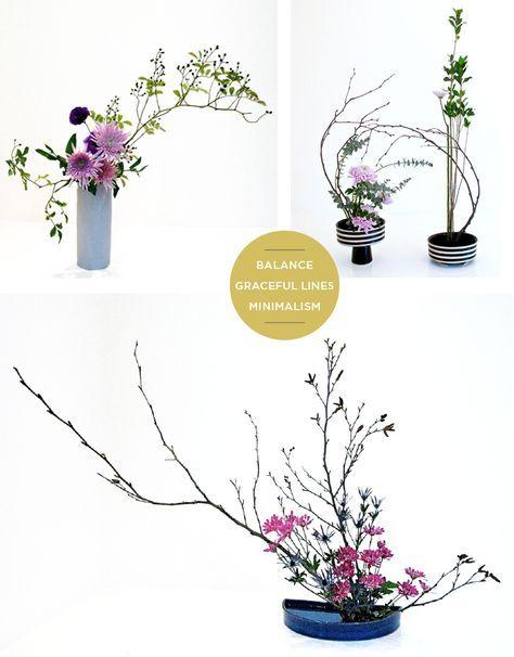 The Art Of Ikebana Flower Arranging   Ikebana arrangements ...
