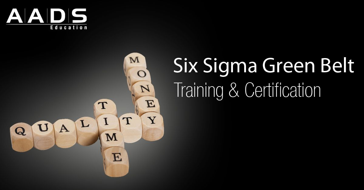 Lean Six Sigma Black Belt Certification Training Course At Aads