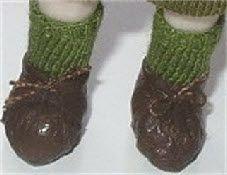 Patrón Gratuito Sock miniatura