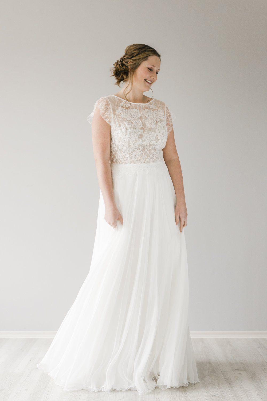 CHLOE Größe 48 | Brautkleid vintage, Kleid hochzeit ...