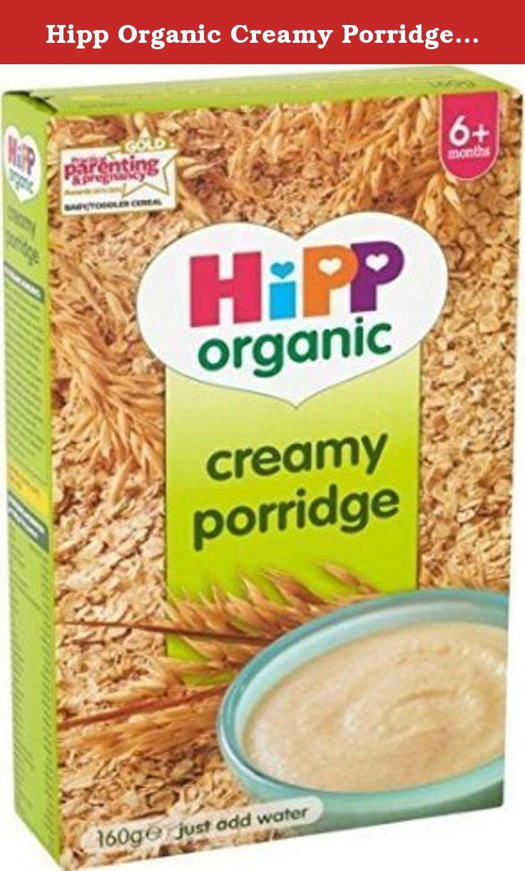 Hipp Organic Creamy Porridge 6mth 160g Hipp Organic Creamy Porridge 6mth 160g Hipp Organic Organic Toddler Food Baby Food Pouch Recipes