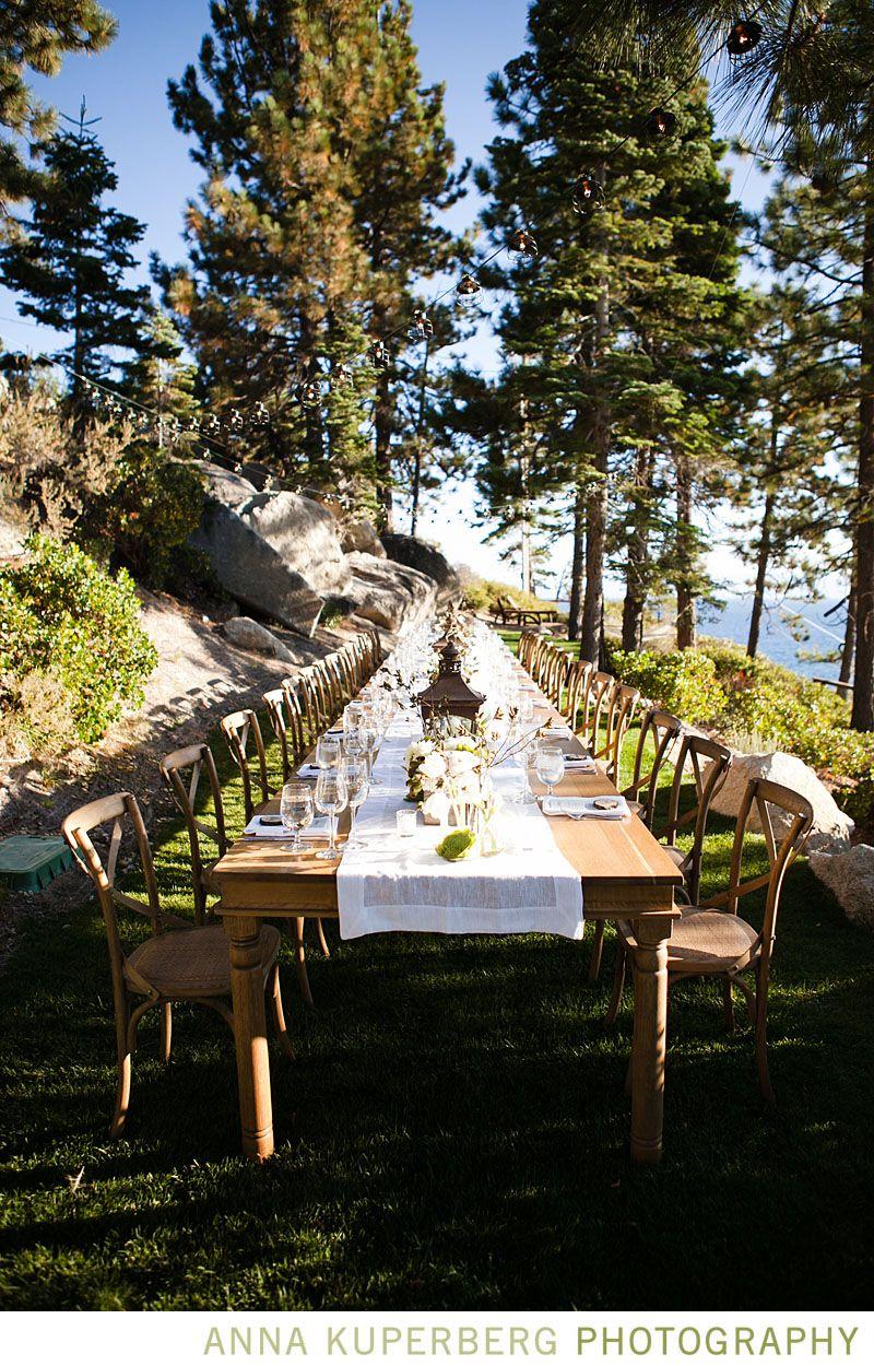 Desiree hartsock wedding blog mountain side dinning for