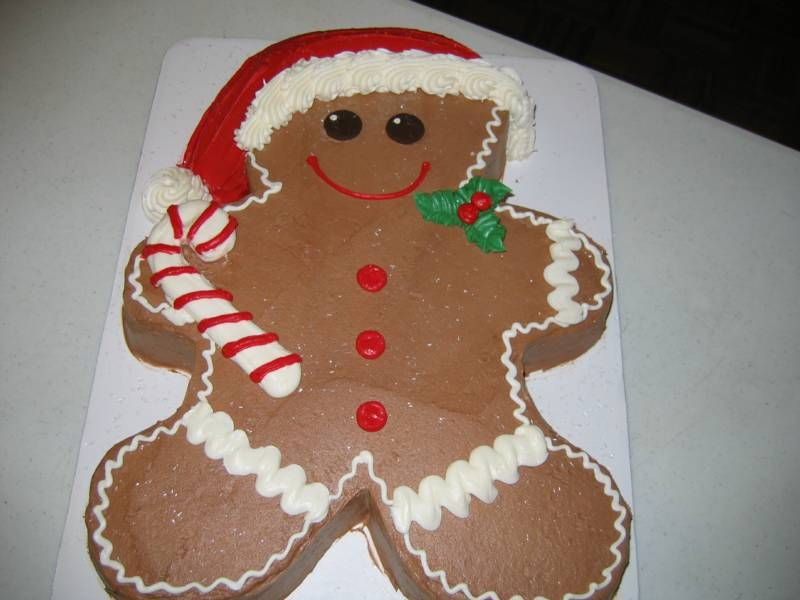 Gingerbread man cake recipe