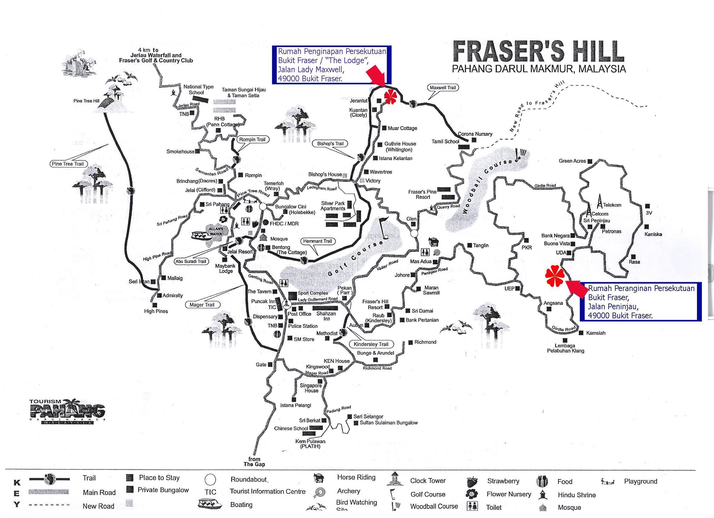 Sbbph Sistem Bersepadu Bahagian Pengurusan Hartanah Fraser S Hill Pahang Fraser