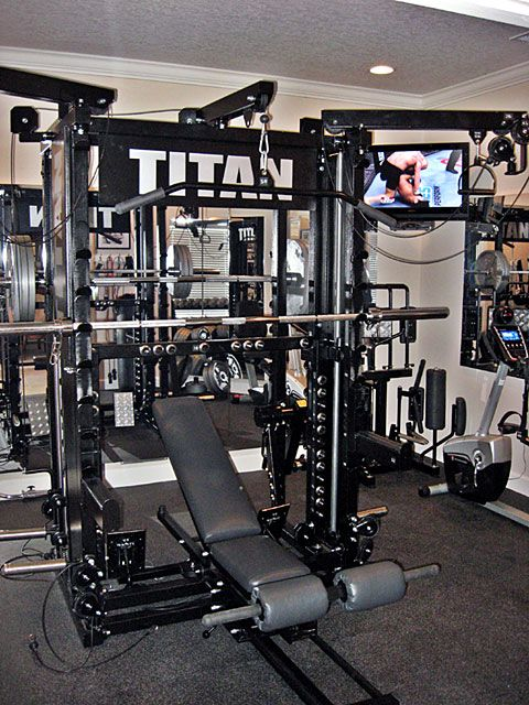 Titan home gym crypted molesting chambers pinterest