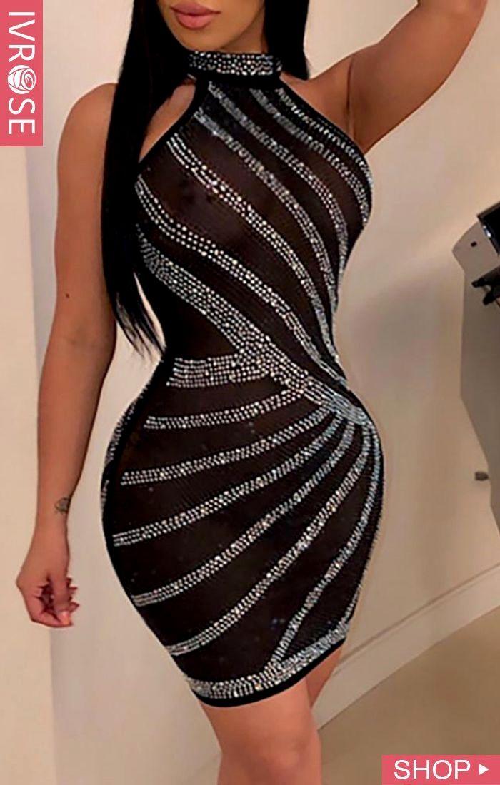 Womens Sexy V-neck Slim Long Skirt Split Strap Waist Pack