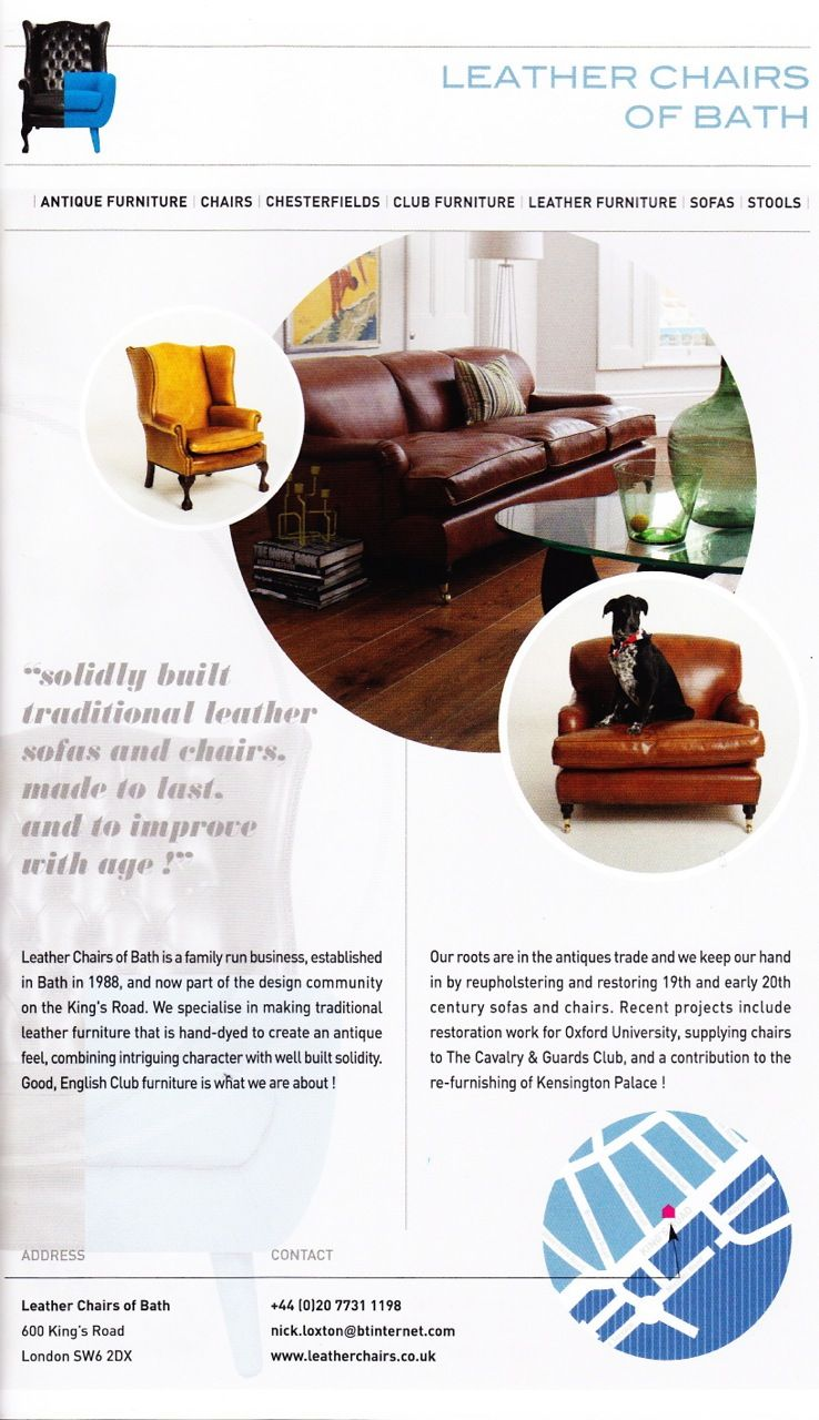 Leather Chairs Of Bath London Used Table And For Sale In The Chelsea Design Quarter Directory