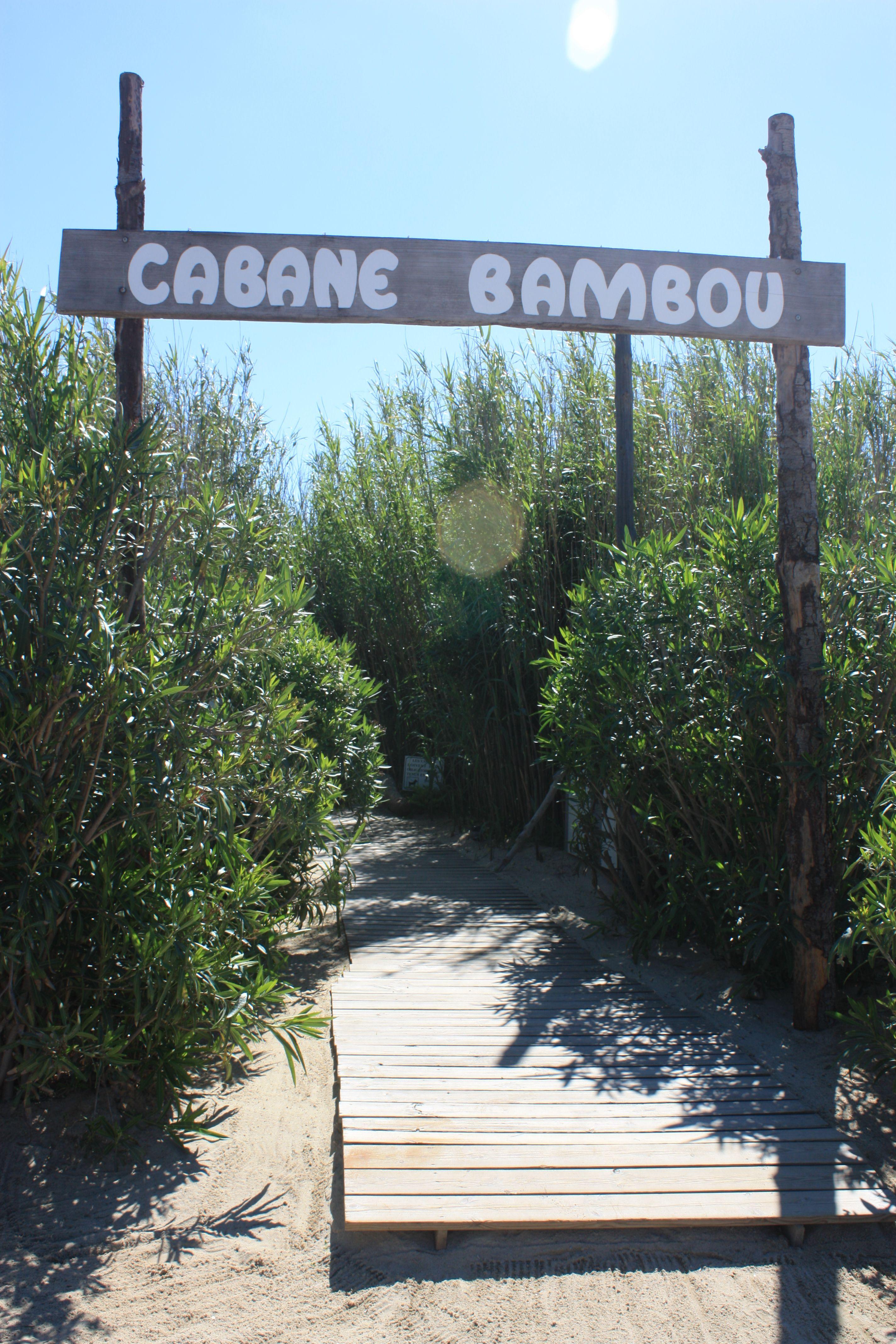 Cabane Bambou Plage De Pampelonne Route De Bonne Terrasse 83350 Ramatuelle Frankrijk