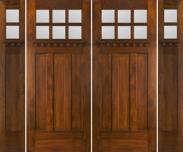 craftsman double front doors. double front entry doors with sidelights | craftsman style exterior and e