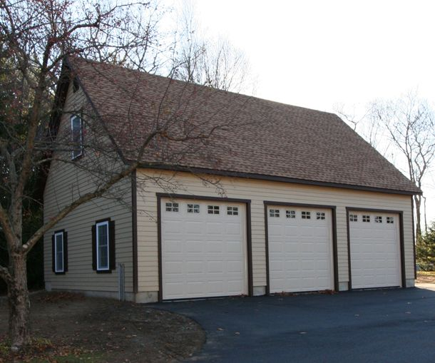 24 X 36 Elite Cape Garage Smartside Siding Window Upgrades Door Upgrades 30 Shed Dormer 9x8 5 Overhea Door Upgrade Garage Apartment Plans Garage Design