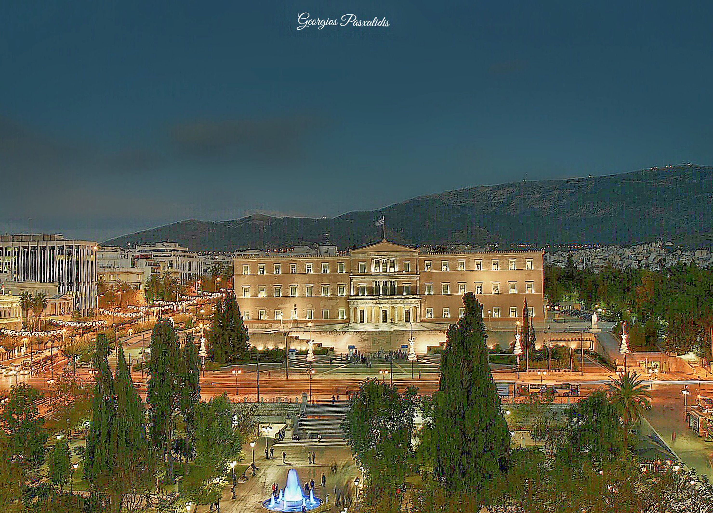 Syntagma Square Greek Parliament Athens House Styles
