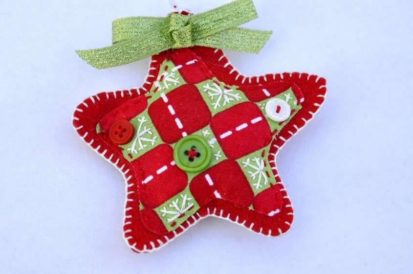 Lavoretti Di Natale Patchwork.Lavoretti Per Natale Con Il Pannolenci Idee Creative
