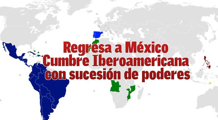 Veintidós jefes de Estado asistirán a la Cumbre Iberoamericana en México