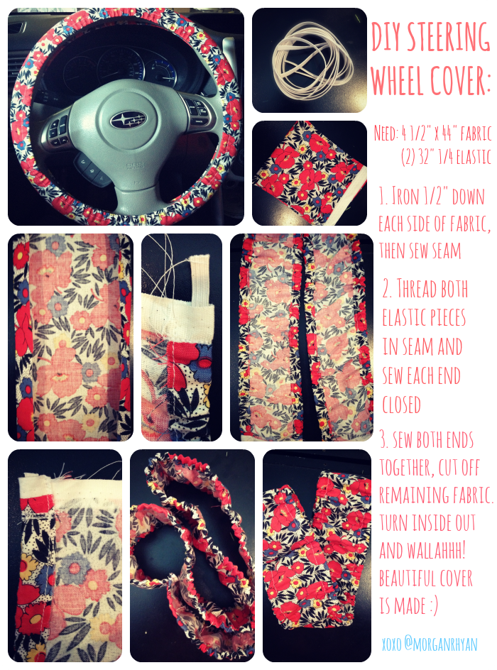 Steering Wheel Cover Tutorial Shop Cardecor Com For Girly Car