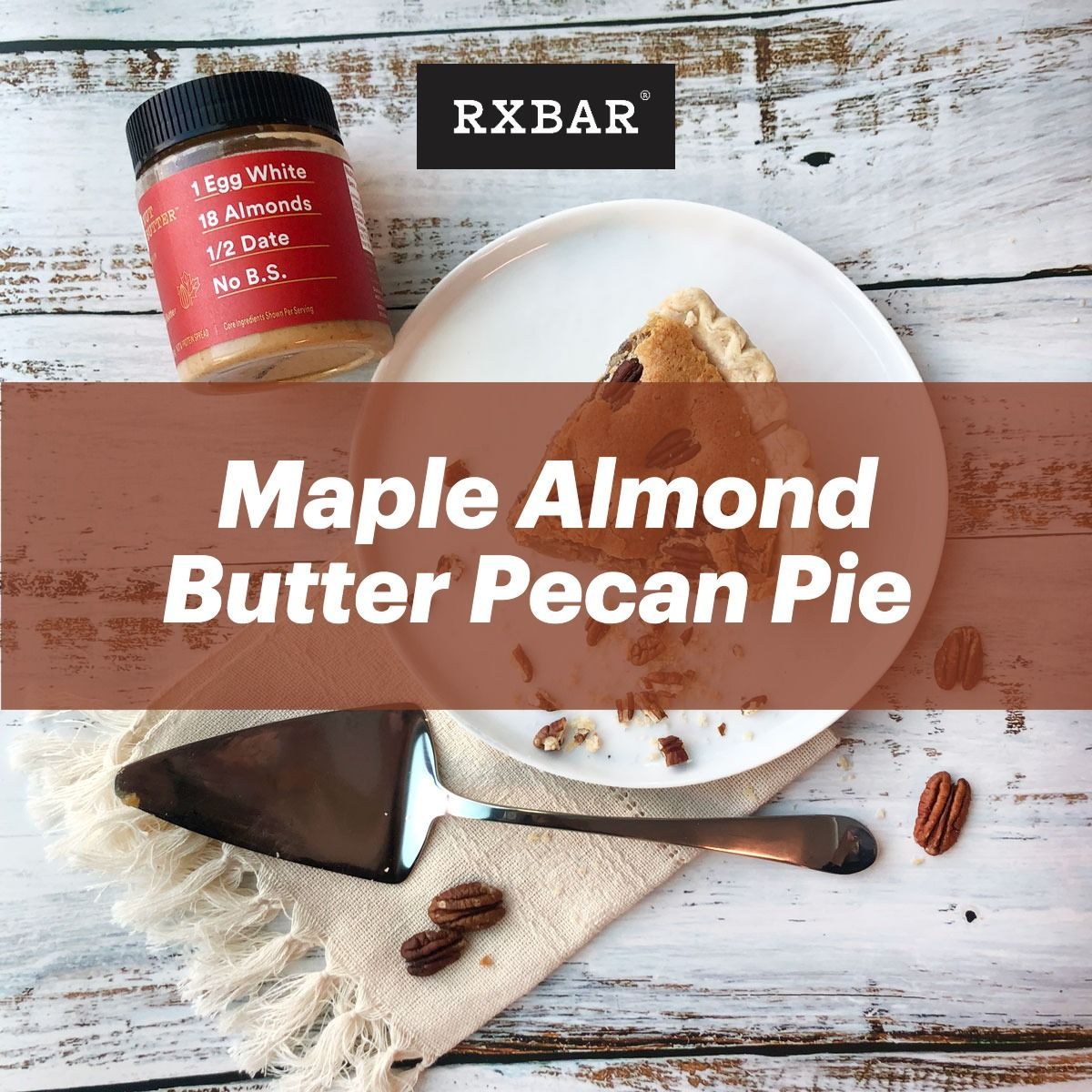 Ingredients 2 Tablespoons Rx Nut Butter Maple Almond Butter 1